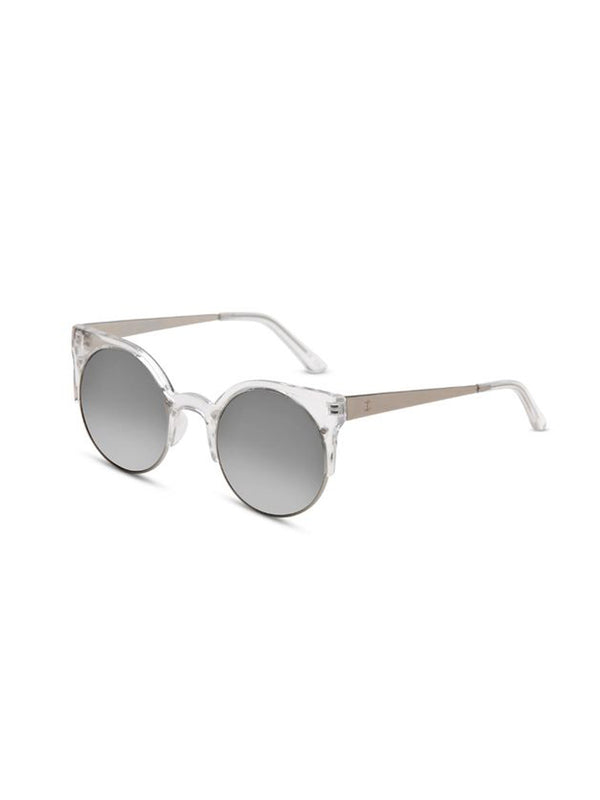 Supa Sundays Eyewear Afterglow clear w. silver reflector lens