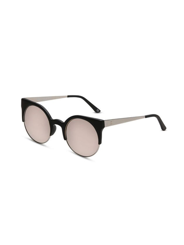Supa Sundays Eyewear Afterglow matte rubber black w. ice peach reflector lens