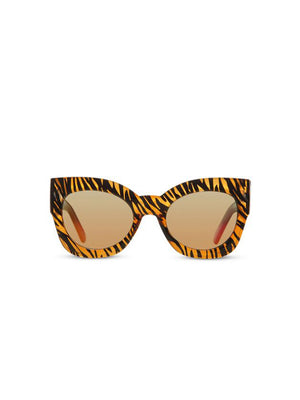 Supa Sundays Eyewear Black Ivy Tiger Stripe