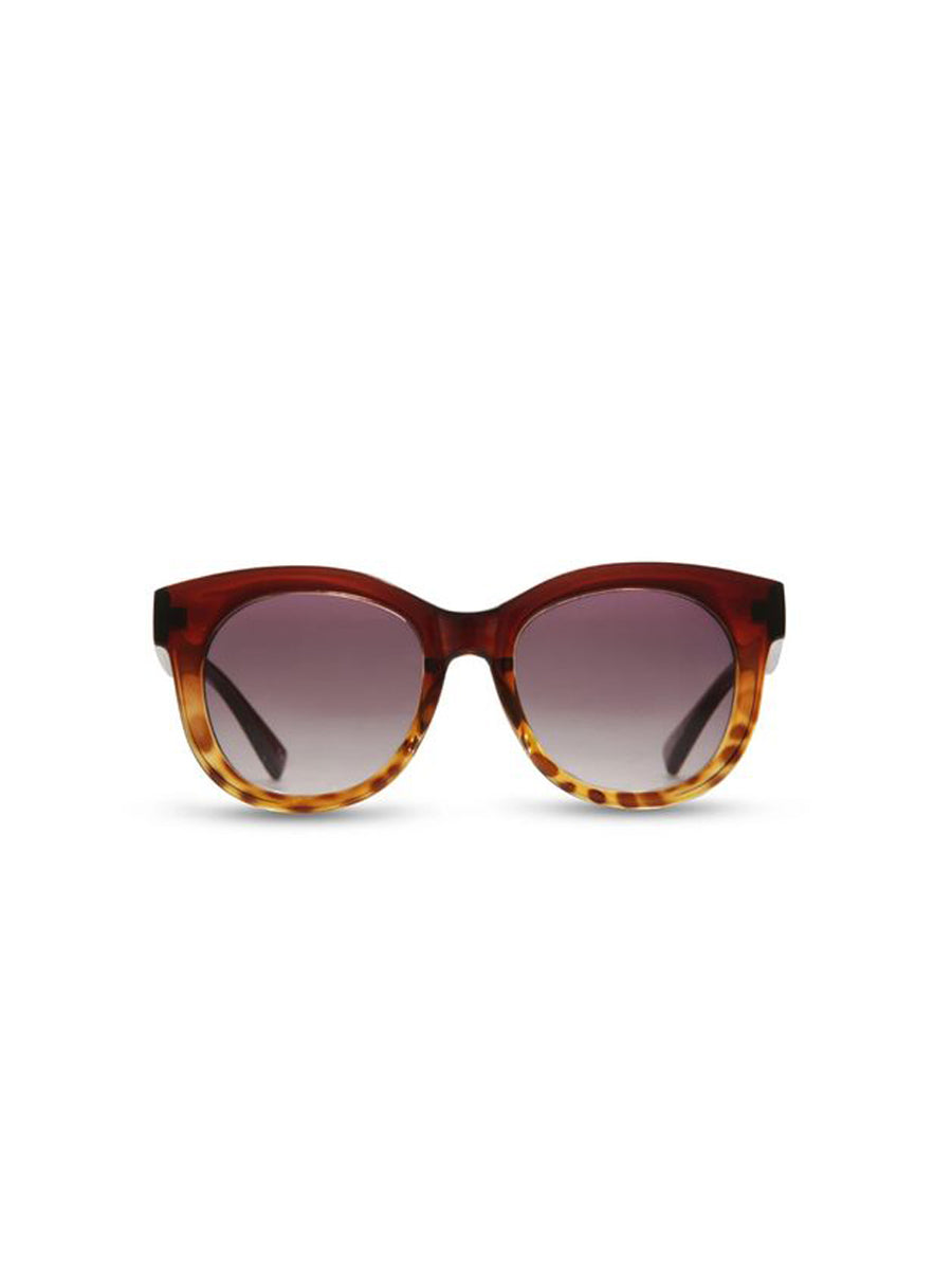 Supa Sundays Eyewear Crazy English Summer demi brown tort