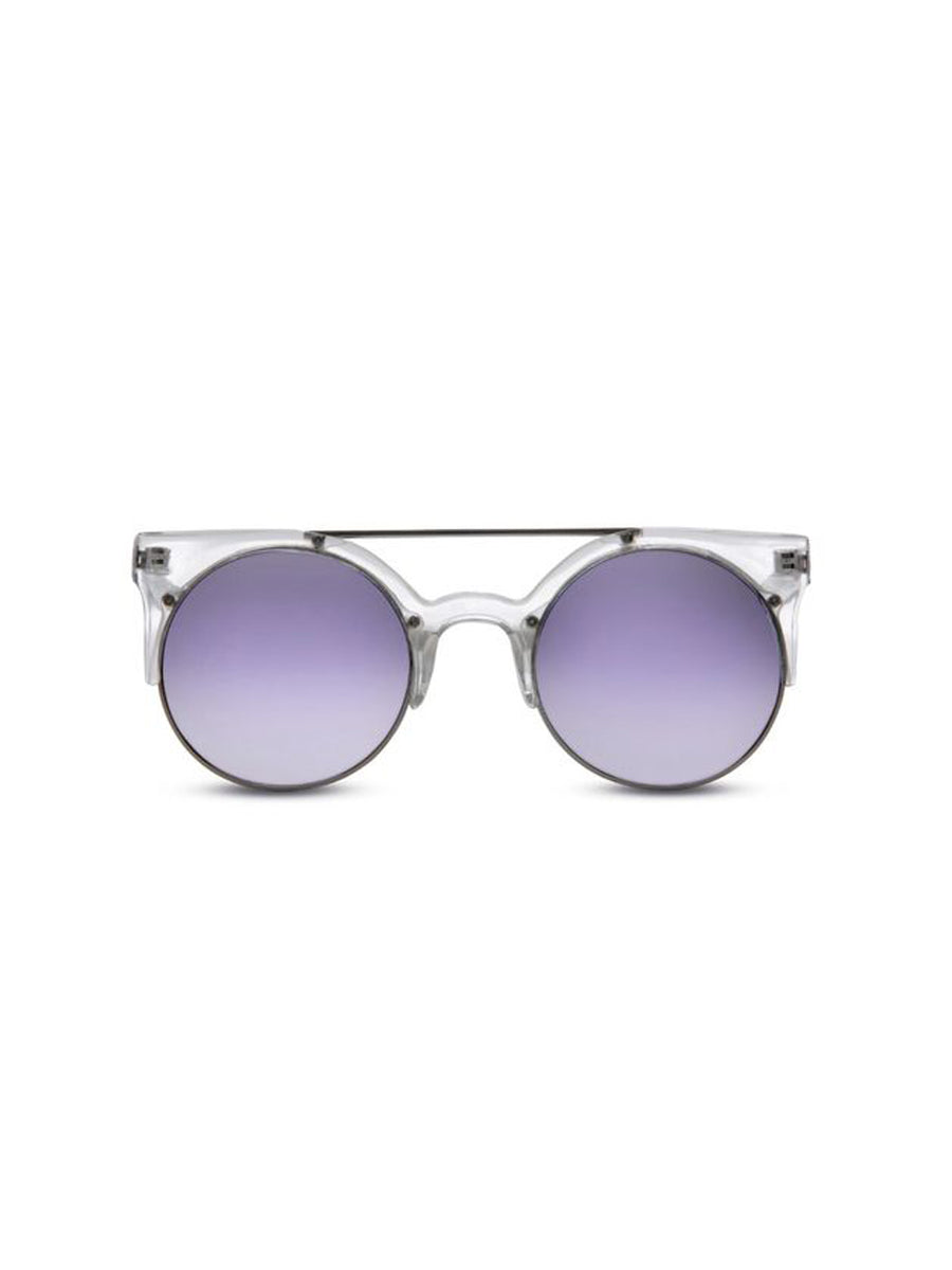 Supa Sundays Eyewear Dallas Clear Purple - 1love2hugs3kisses Ibiza