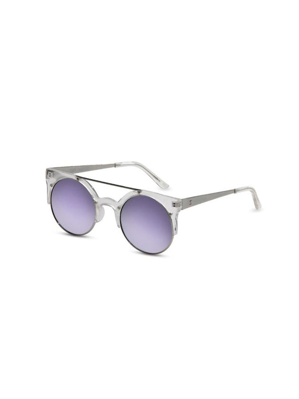 Supa Sundays Eyewear Dallas Clear Purple