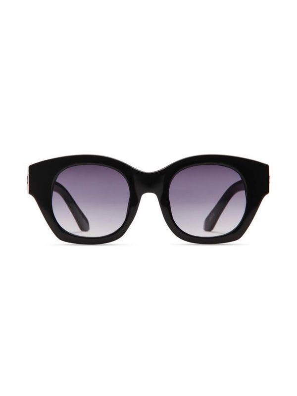 Supa Sundays Eyewear Ellena Gloss Black