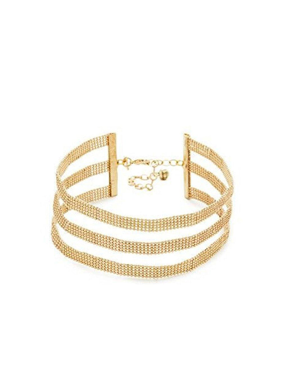 Vanessa Mooney The Harmony Choker Gold - 1love2hugs3kisses Ibiza