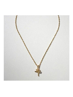 Vanessa Mooney The Little Rose Charm Necklace Gold - 1love2hugs3kisses Ibiza
