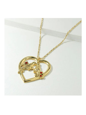 Vanessa Mooney The Lovebird Necklace Gold - 1love2hugs3kisses Ibiza