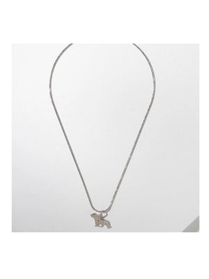 Vanessa Mooney The Tigress Necklace Silver - 1love2hugs3kisses Ibiza