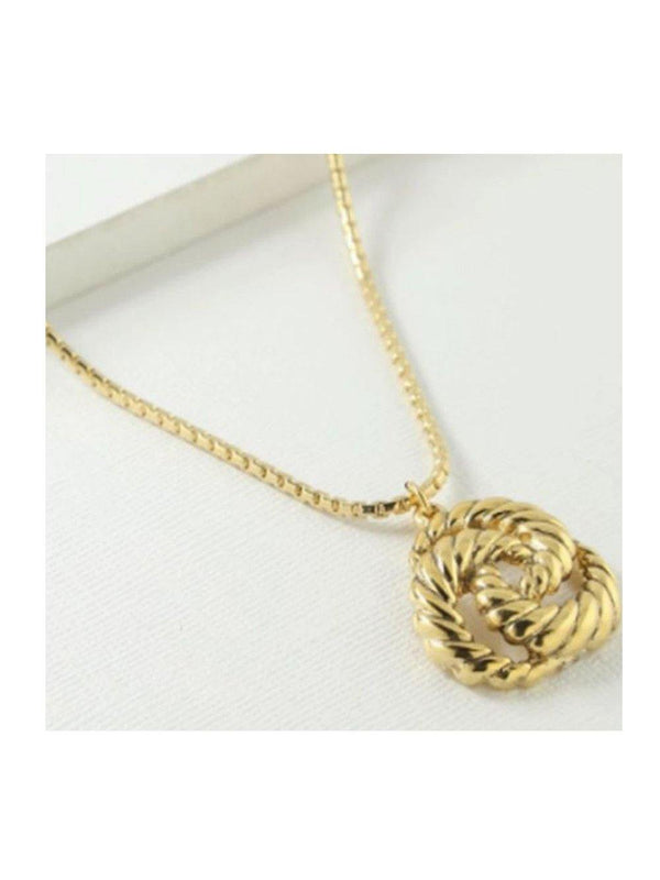 Vanessa Mooney The Valleta Necklace Gold - 1love2hugs3kisses Ibiza