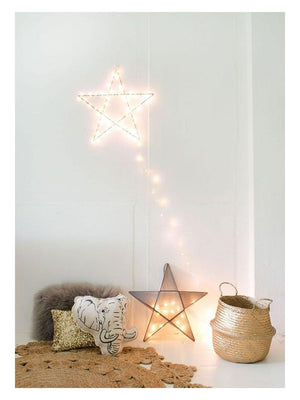 Zoé Rumeau Star shape light - 1love2hugs3kisses Ibiza