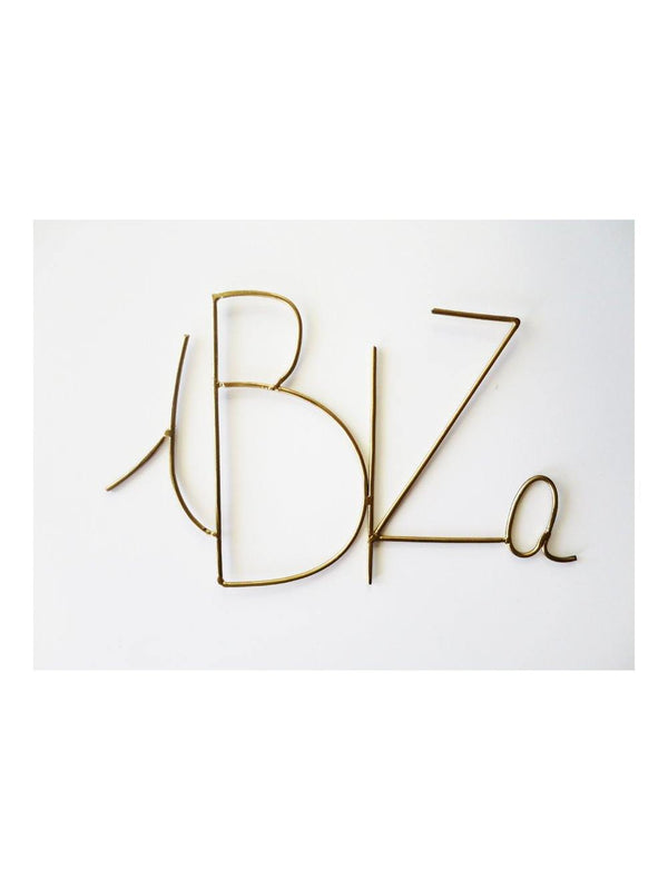 Zoé Rumeau Ibiza Word Gold - 1love2hugs3kisses ibiza
