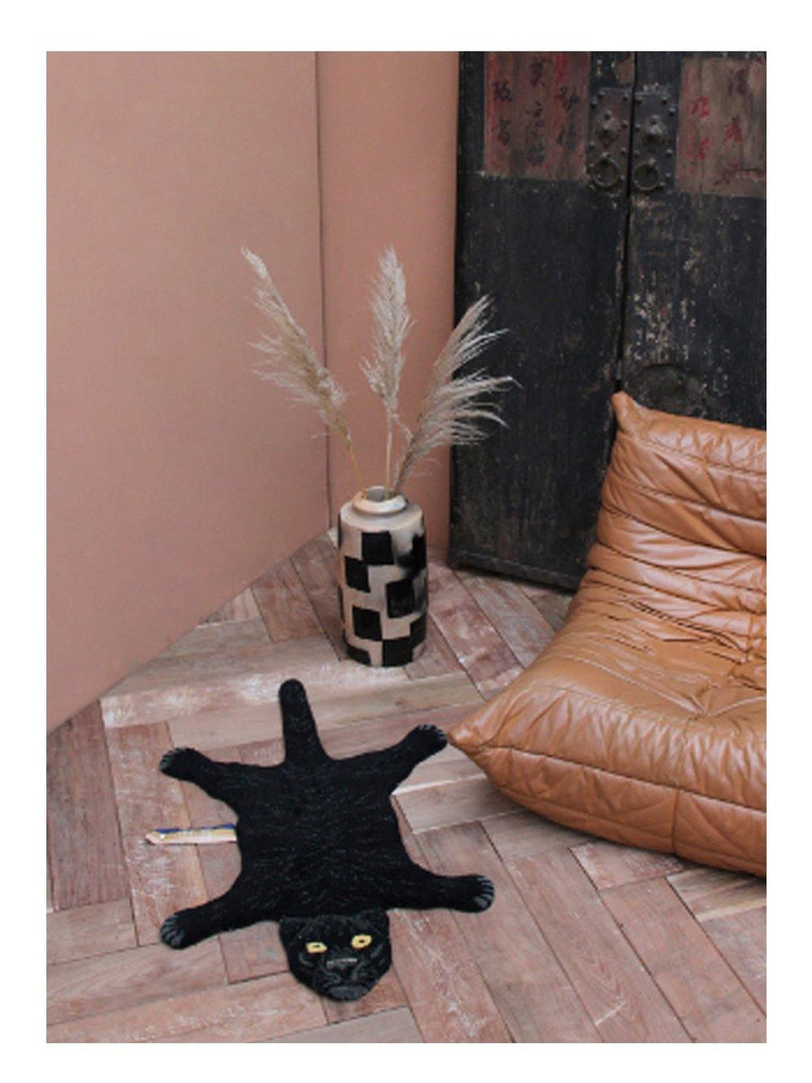 Doing Goods Fiery Black Panther Rug Small - 1love2hugs3kisses Ibiza