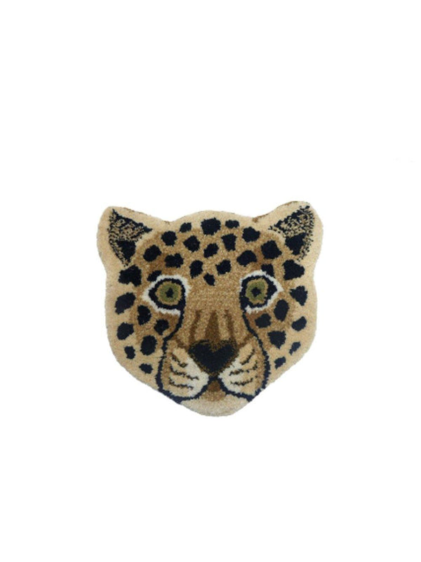 Doing Goods Loony Leopard Head Rug - 1love2hugs3kisses Ibiza