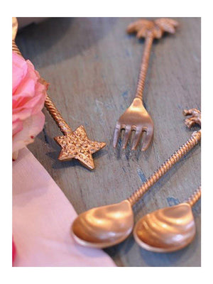 Doing Goods Lulu Palmtree spoon set of 2 - 1love2hugs3kisses Ibiza