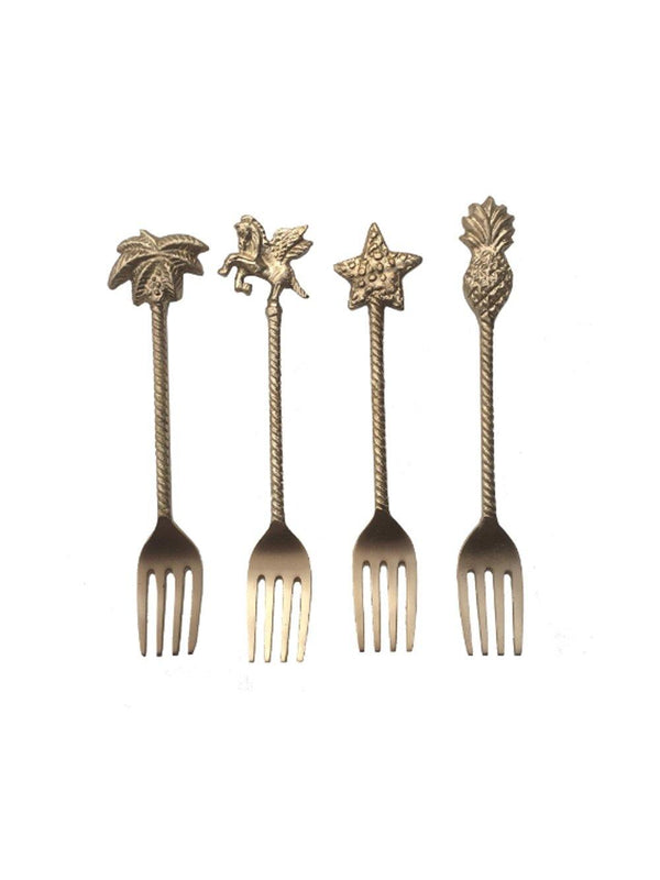 Doing Goods Magic Dessert fork set of 4 - 1love2hugs3kisses Ibiza