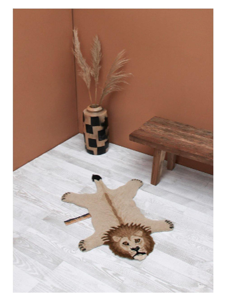 Doing Goods Moody Lion Rug Small - 1love2hugs3kisses Ibiza