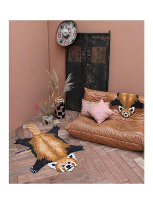 Doing Goods Perky Panda Rug Large - 1love2hugs3kisses Ibiza