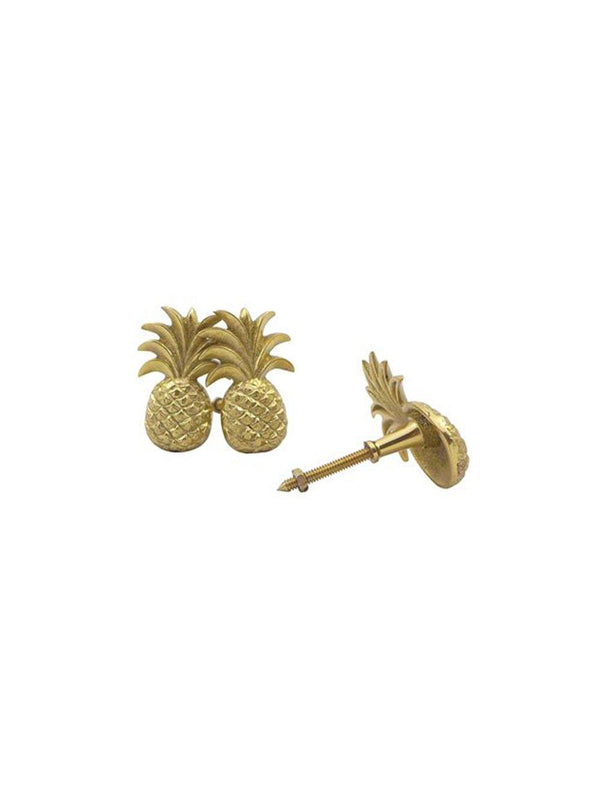 Doing Goods Pineapple door Knob (set of 2) - 1love2hugs3kisses Ibiza
