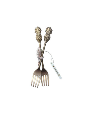 Doing Goods Poppy pineapple fork set of 2 - 1love2hugs3kisses Ibiza