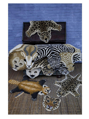 Doing Goods Drowsy Tiger Rug Large - 1love2hugs3kisses Ibiza