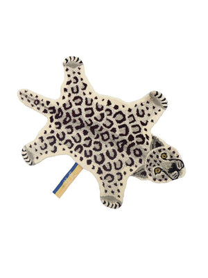 Doing Goods Snowy Leopard Rug Small - 1love2hugs3kisses Ibiza