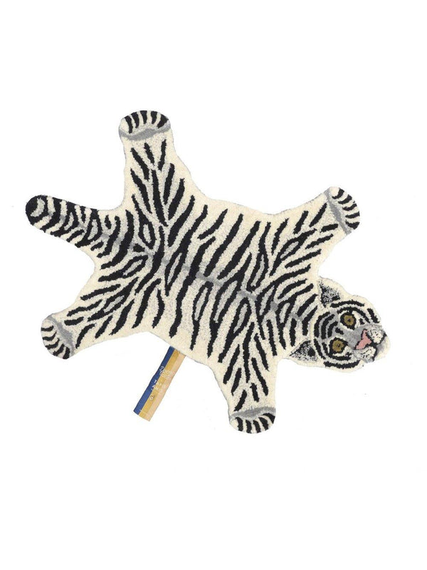 Doing Goods Snowy Tiger Rug Small - 1love2hugs3kisses Ibiza