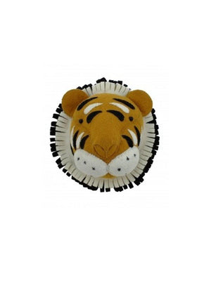 Fiona Walker England Tiger Mini Animal Head - 1love2hugs3kisses Ibiza