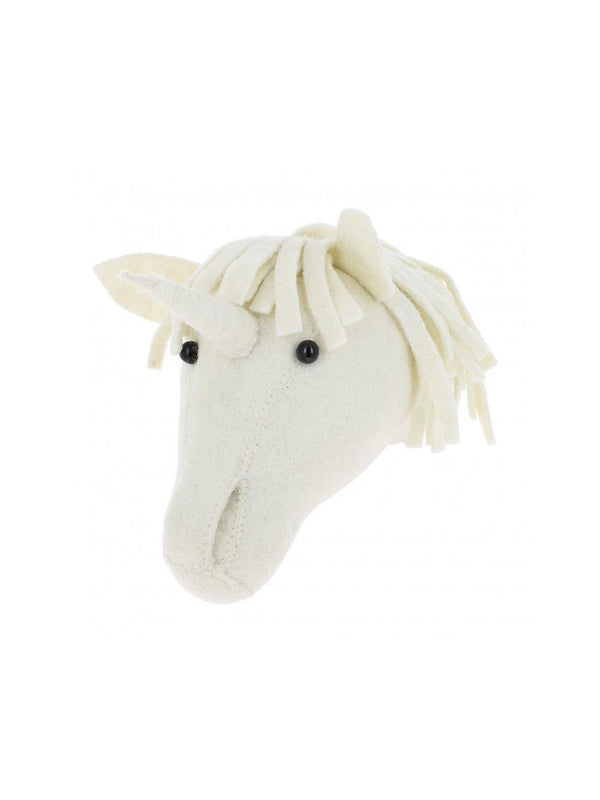 Fiona Walker England Unicorn Mini Animal Head - 1love2hugs3kisses Ibiza