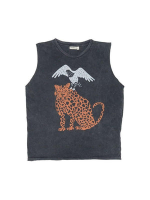 Pre Loved Zuttion Tank Top Eagle Cat - 1love2hugs3kisses ibiza