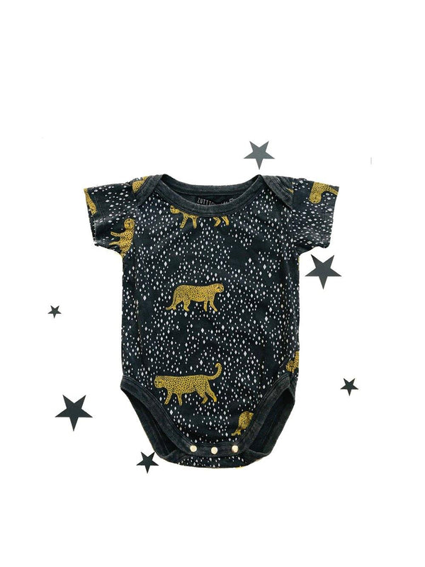 Zuttion Onesie Diamond Leopard