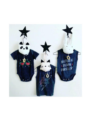 Zuttion Onesie Natural Born Thriller
