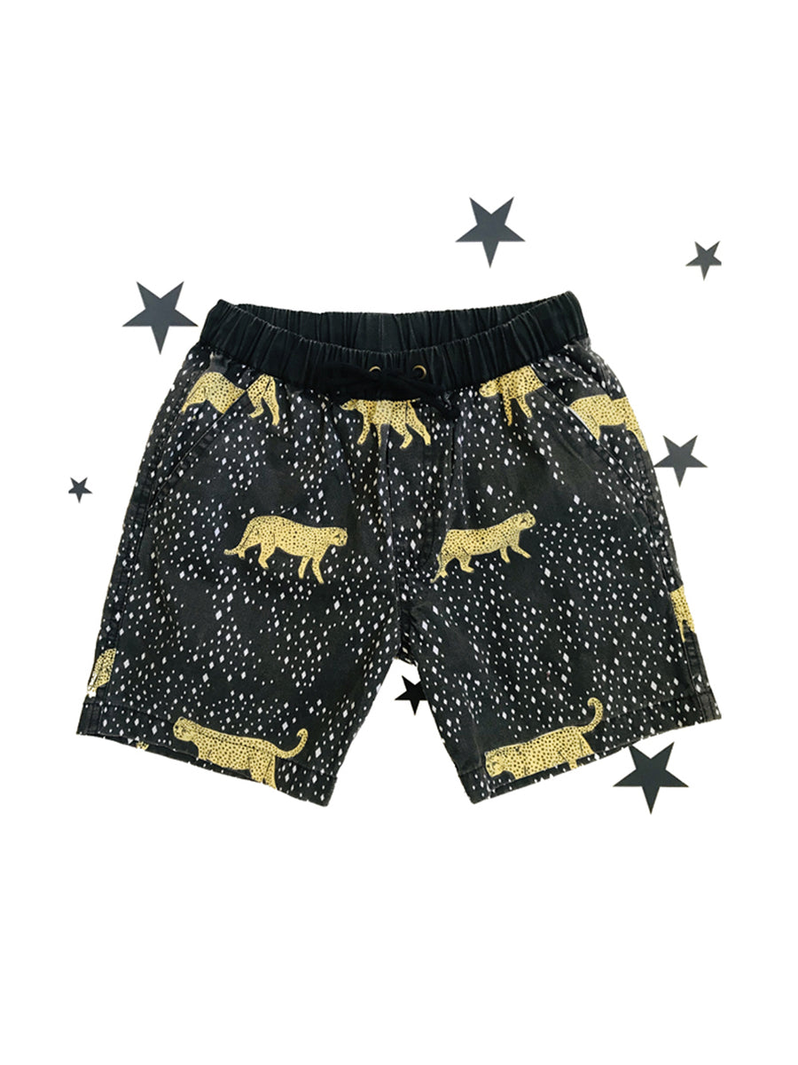 Zuttion shorts leopard diamond - 1love2hugs3kisses Ibiza