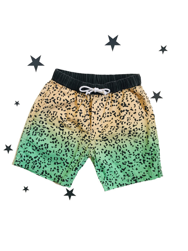 Zuttion Short Leopard gradient