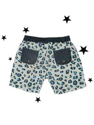 Zuttion Shorts Leopard