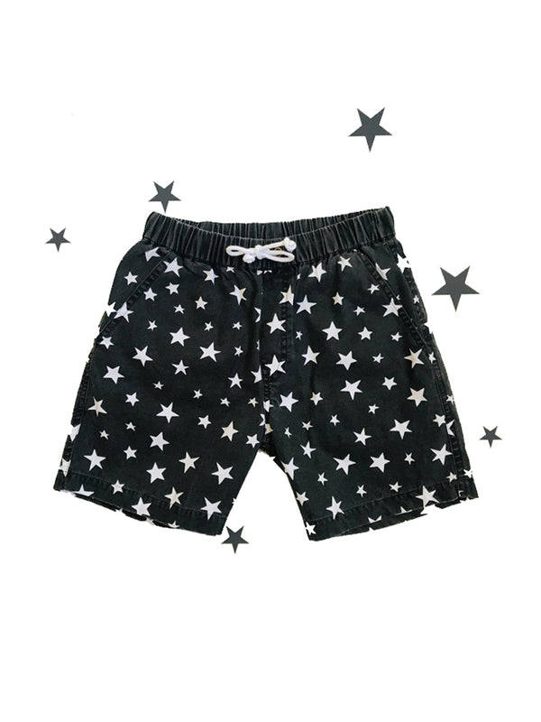 Zuttion Short White Stars - 1love2hugs3kisses Ibiza