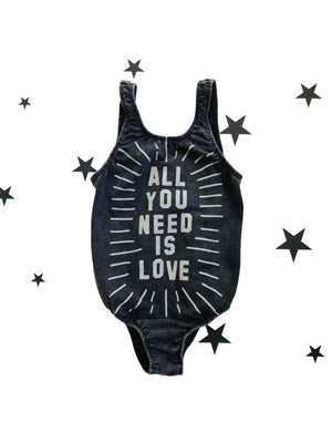 Zuttion Swimsuit All you need is love - 1love2hugs3kisses Ibiza
