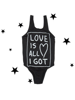 Zuttion Swimsuit Love Is All I got