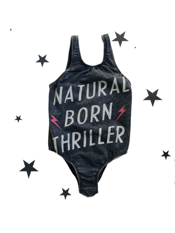 Zuttion Swimsuit Natural Born Thriller charcoal - 1love2hugs3kisses Ibiza