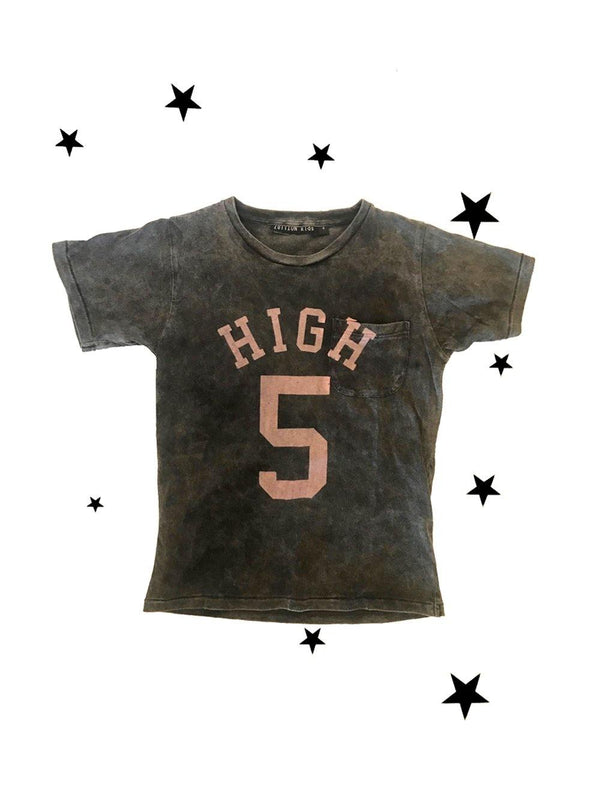 Zuttion T-shirt High Five Charcoal
