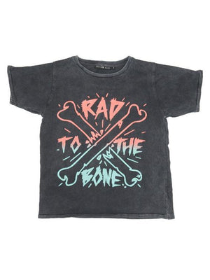 Zuttion T-shirt Rad to the bone