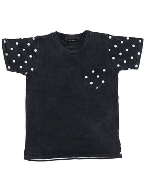 Pre Loved Zuttion T-shirt Stripes Dots - 1love2hugs3kisses ibiza