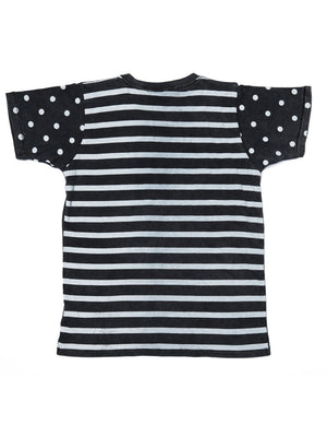 Zuttion T-shirt Stripes Dots - 1love2hugs3kisses Ibiza