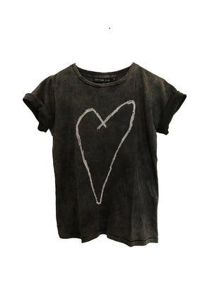 Zuttion T-shirt Heart - 1love2hugs3kisses Ibiza