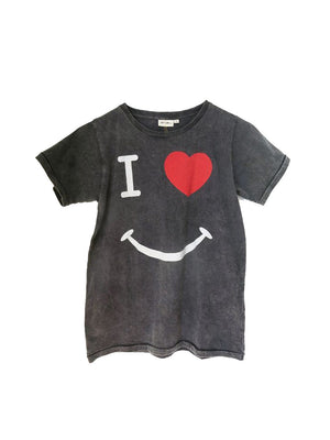 Zuttion T-shirt I Love Smile - 1love2hugs3kisses Ibiza