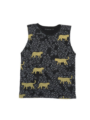 Zuttion Tank Top Leopard Diamond