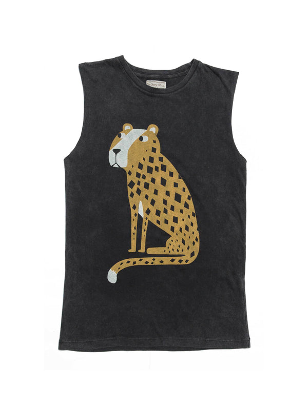 Zuttion Tank Top Cheetah