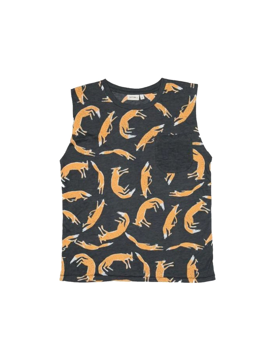 Zuttion Tank Top Fox - 1love2hugs3kisses Ibiza