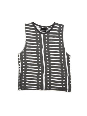 Zuttion Tank Top Dot Stripe - 1love2hugs3kisses Ibiza