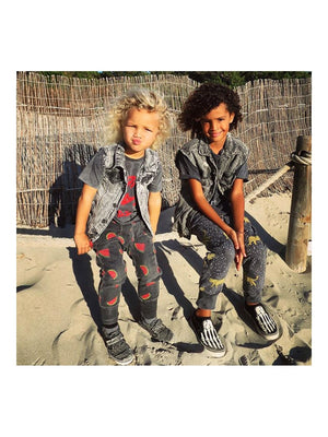 Zuttion Trackies Watermelon Charcoal - 1love2hugs3kisses Ibiza