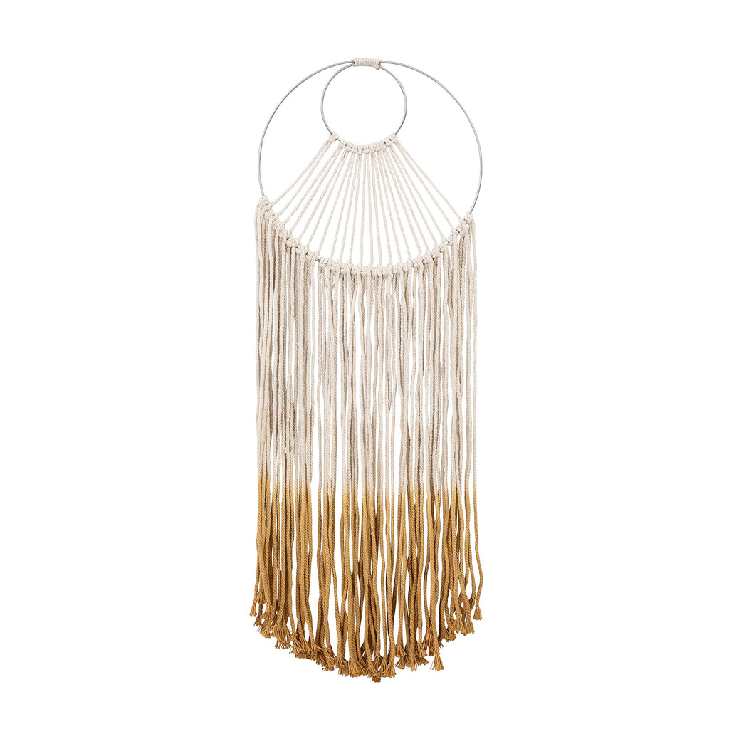 Bloominville dip dyed wall hanging