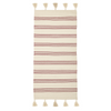 Bloomingville Red/White Striped Rug
